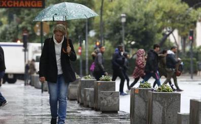Tiempo en la Comunitat: sábado de lluvias ocasionales que continuarán hasta el domingo