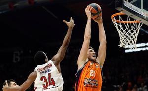 Sigue en directo el partido de Euroliga entre Olimpiacos y Valencai Basket