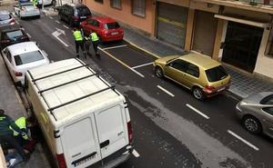 Cinco detenidos tras una persecución entre Ribarroja y Quart de Poblet