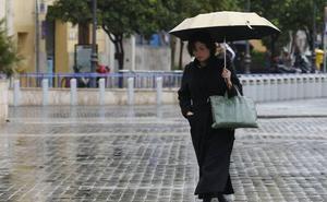 Las lluvias vuelven este lunes a la mitad norte de la Comunitat Valenciana