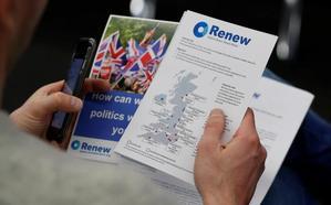 Nace un nuevo partido británico contra el 'Brexit'