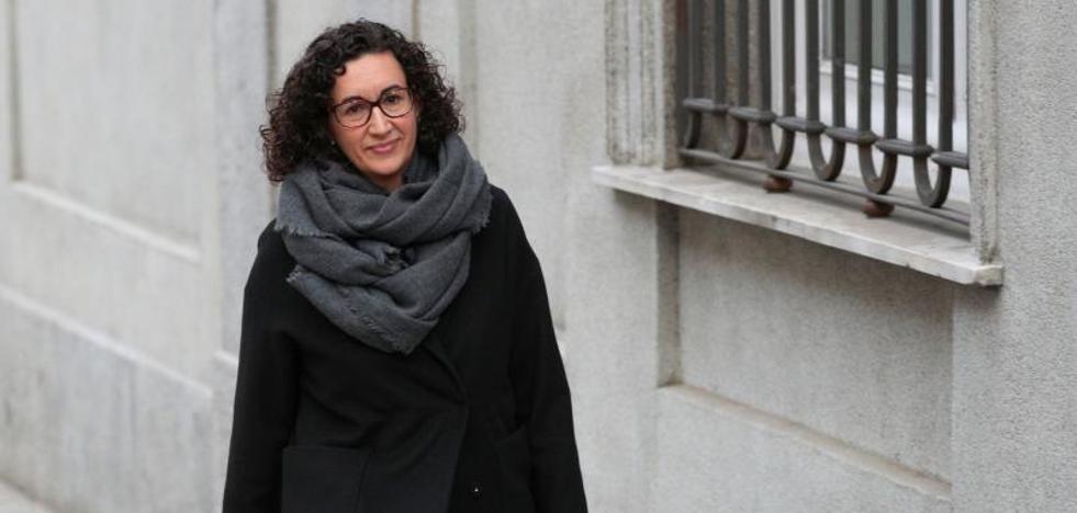 Libertad bajo fianza de 60.000 euros a Marta Rovira