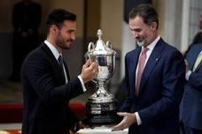 El piragüismo y Lydia, las sonrisas del día en los Premios Nacionales del Deporte