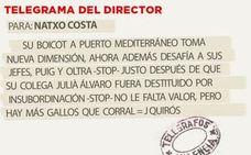 Telegrama para Natxo Costa