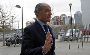 Francisco Camps, citado a declarar como investigado el 18 de mayo por la Fórmula 1