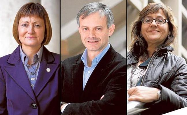 Tres académicos ante el reto de gobernar la Universitat