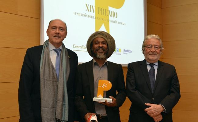 Omar Islam Ali, premio Fundación por la Justicia