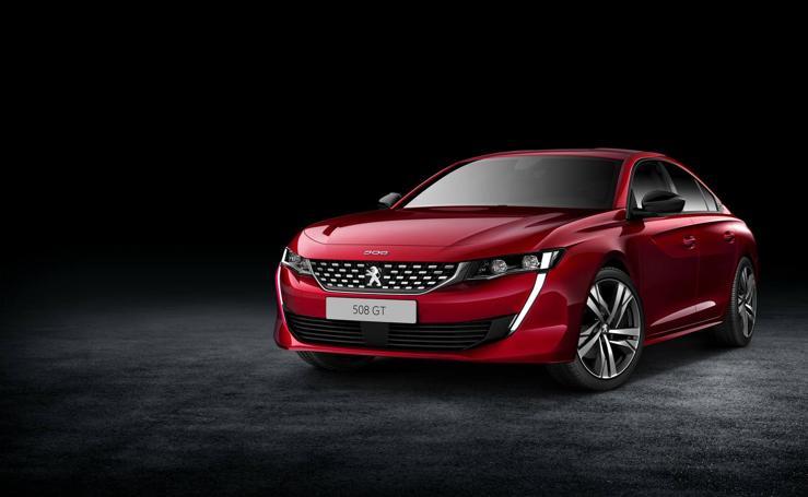 Primeras imágenes del nuevo Peugeot 508