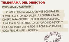 Telegrama para Mateo Alemany