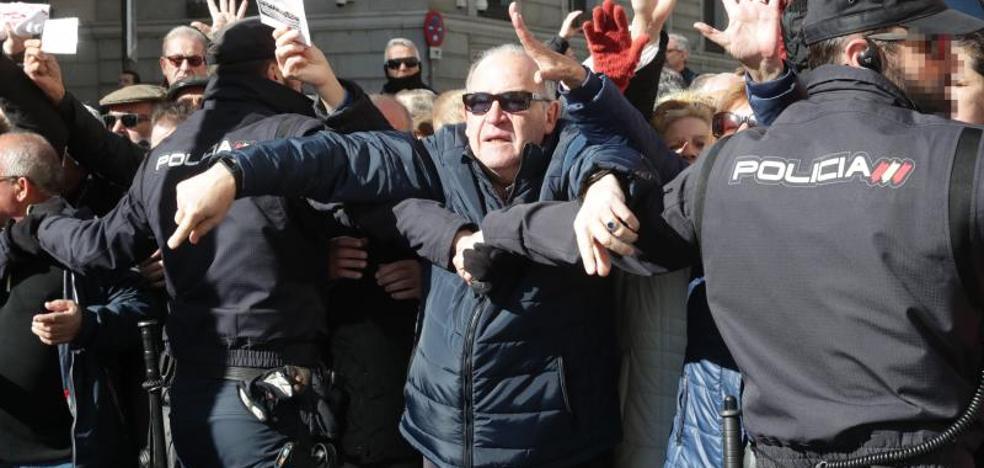 Clamor en la calle por las pensiones dignas