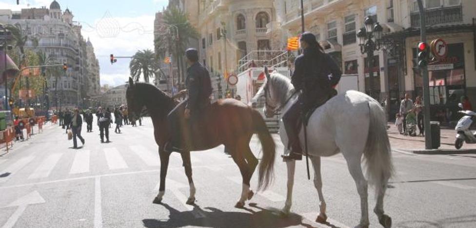 3.000 efectivos de Policía Nacional y Guardia Civil vigilarán las calles en Fallas