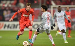 Salzburgo-Real Sociedad, en directo