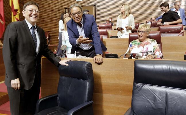 El PSPV evita apoyar el cupo vasco pese a respaldarlo en el Congreso