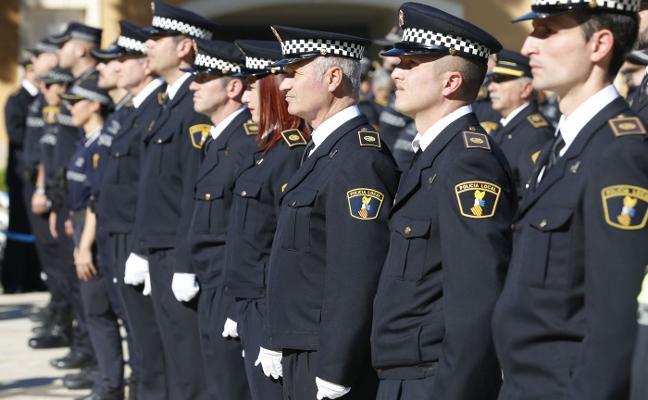 Valencia contratará policías de otros municipios para cubrir las jubilaciones
