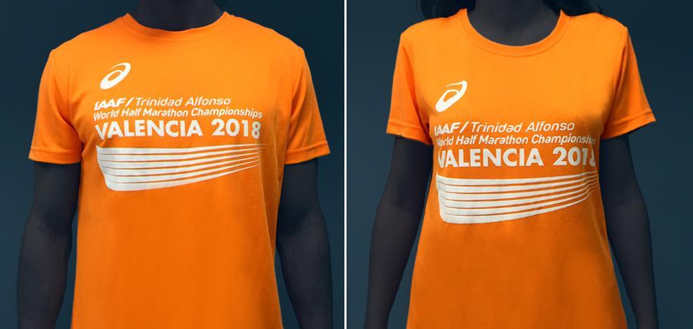 Así es la camiseta del Mundial de Media Maratón Valencia 2018