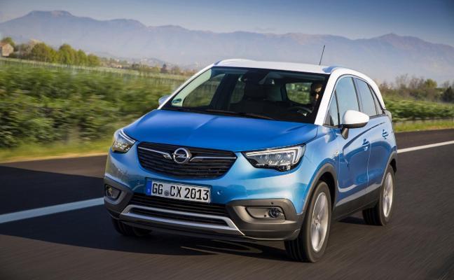 Opel impulsa la gama GLP con el Crossland