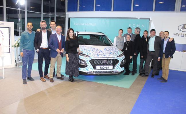 Gran estreno del Kona en Hyundai Autiber