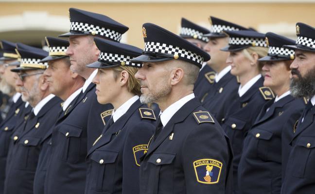 200 policías locales podrán pedir la jubilación anticipada en Valencia
