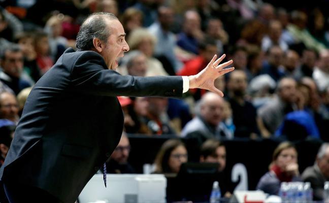 Txus Vidorreta: «Hace años que dejé de ilusionarme pero me gustaría seguir en el Valencia Basket»