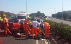 Dos muertos al chocar un coche que circulaba en sentido contrario con otro vehículo en Paterna