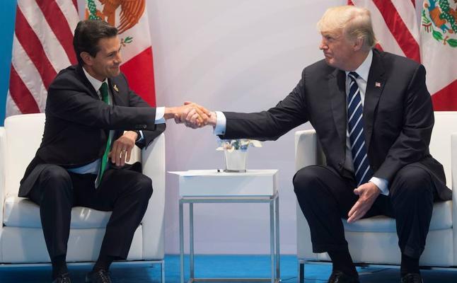 Una discusión por el muro con Trump frustra de nuevo la visita de Peña Nieto a EE UU
