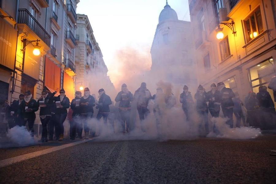 Fotos de la Macrodespertà de las Fallas 2018 de Valencia