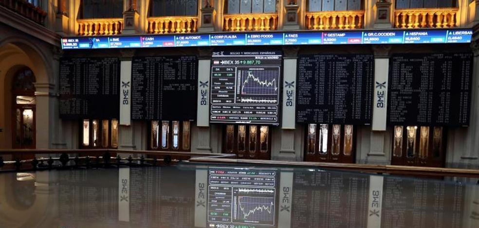 El Ibex-35 conquista los 9.900 con el apoyo del BCE y Wall Street