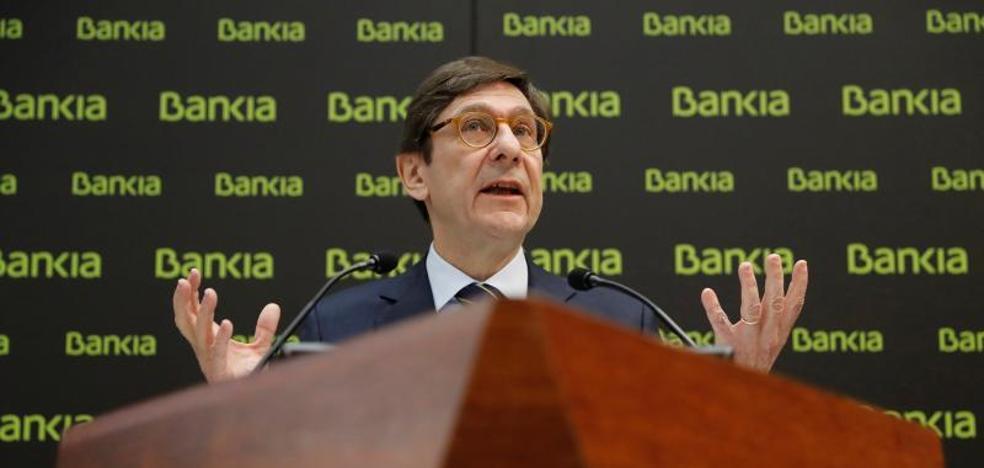 Bankia confía en devolver otros 1.500 millones al Estado en tres años y en acelerar su privatización