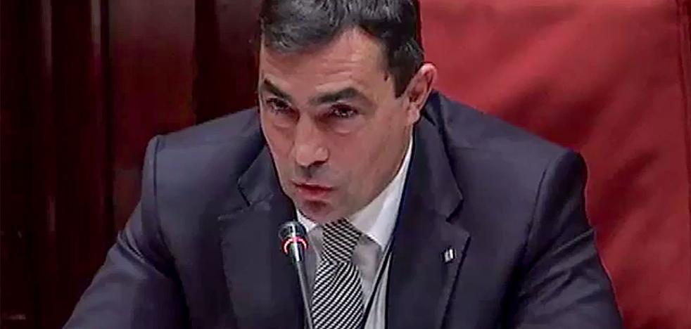 La juez imputa por sedición al ex jefe político de los Mossos