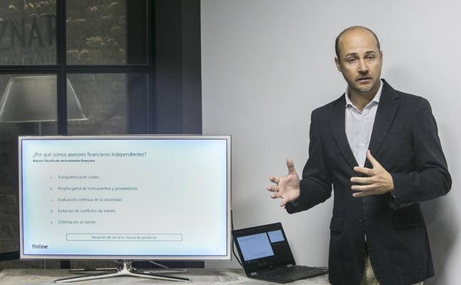 El asesor valenciano Raúl Aznar desarrolla la primera plataforma online para inversores particulares