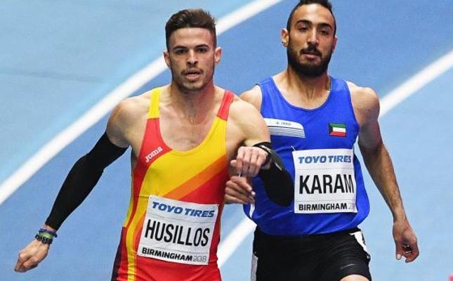 Óscar Husillos llega favorito a la final de 400 metros