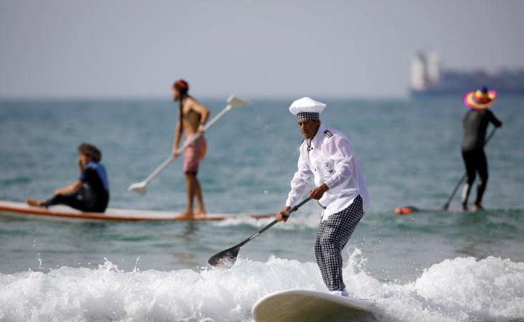 Fotos de loco surf en Israel