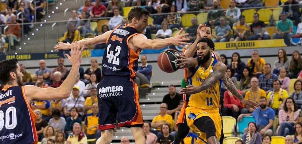 El Valencia Basket cae en la pista del Gran Canaria