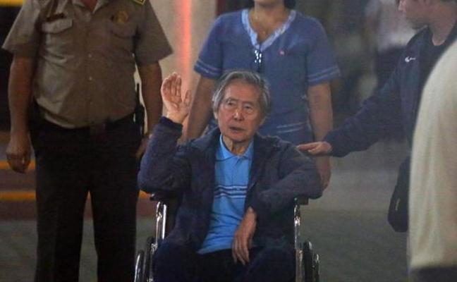 Fujimori es hospitalizado por taquicardia y deshidratación