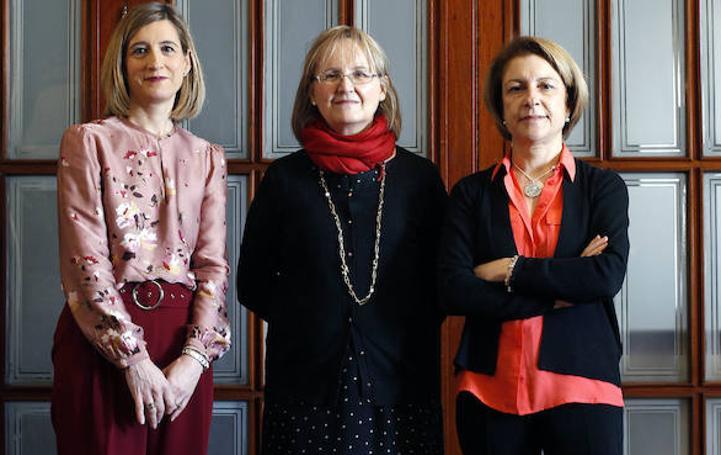 Fotos de las rectoras de las universidades privadas de Valencia
