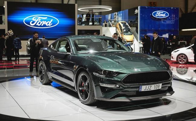 Ford presenta en el Salón de Ginebra el Mustang Bullitt