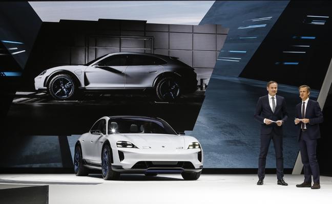 Mission E Cross Turismo, estrella de Porsche en Ginebra