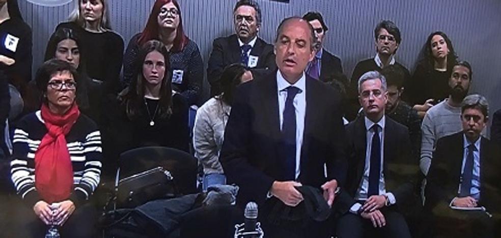 Camps declara que Zaplana le presentó a 'El Bigotes' y el exministro lo desmiente