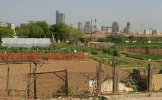Una tubería de suministro de agua a Valencia cruzará la huerta de Campanar