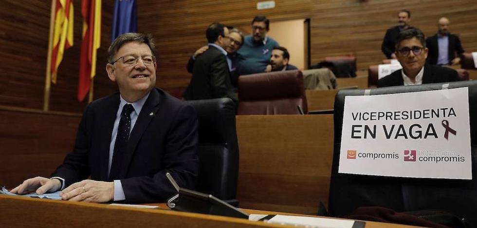 Ximo Puig acusa a Mariano Rajoy de «boicotear una huelga justa» a favor de la igualdad