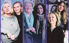 Madres e hijas alzan la voz
