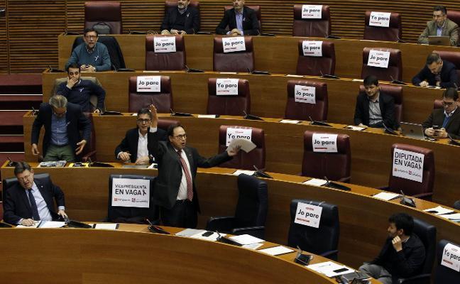 Puig desata la bronca en Les Corts al acusar a Bonig de defender el «hembrismo»