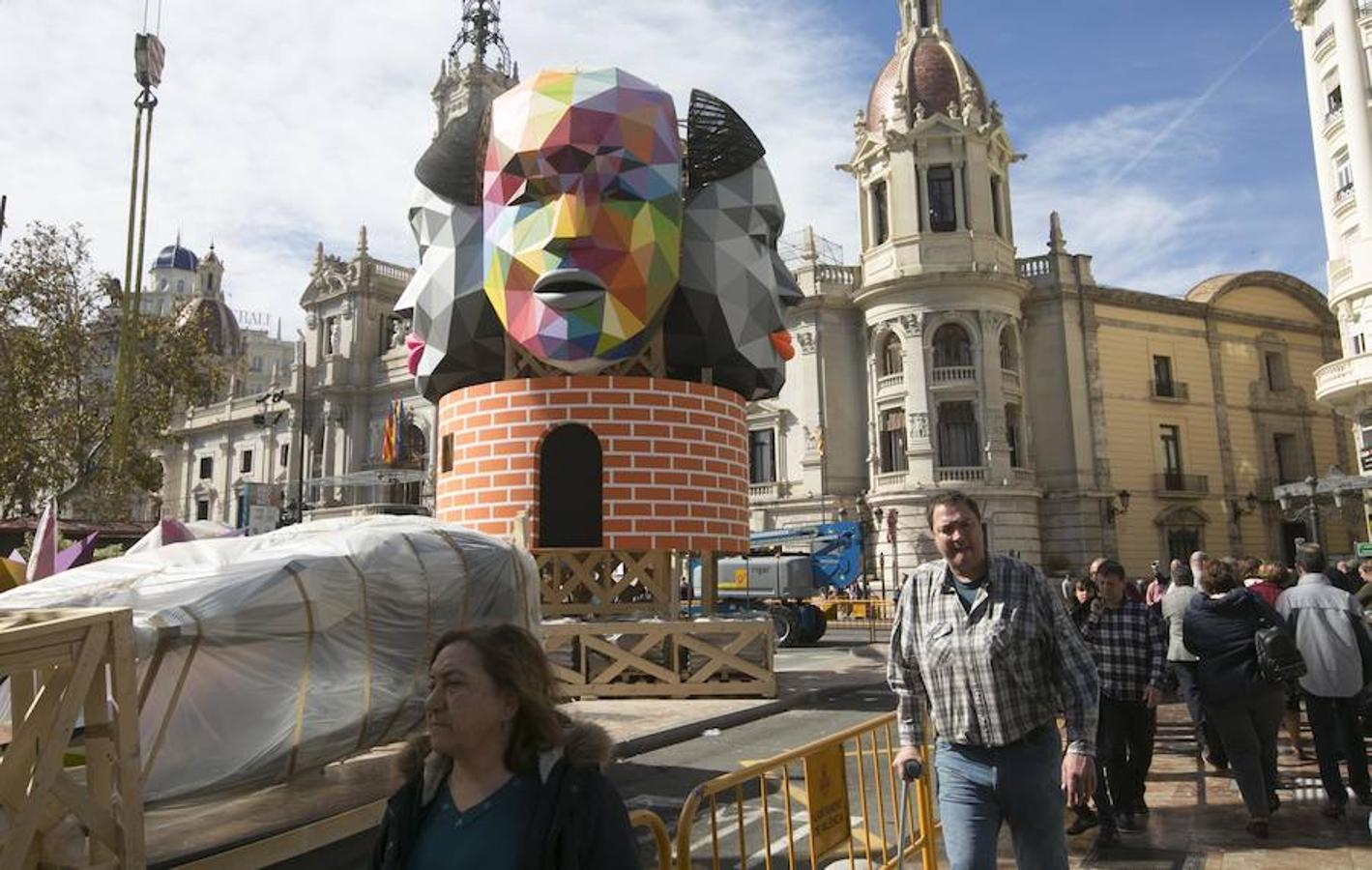 Fotos de la Falla de la plaza del Ayuntamiento