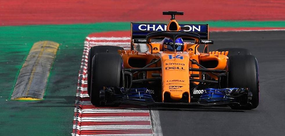 Alonso: «Todo va por el buen camino»