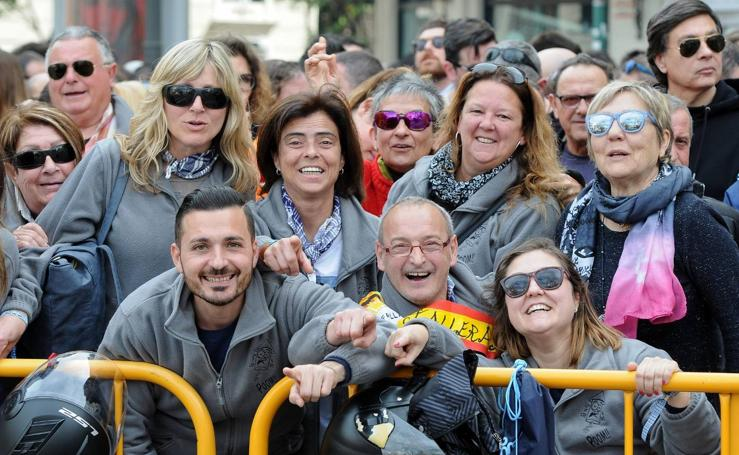 Búscate en las imágenes de la mascletà del 9 de marzo de la Alpujarreña