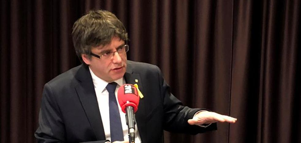Puigdemont no descarta elecciones en una Cataluña bloqueada
