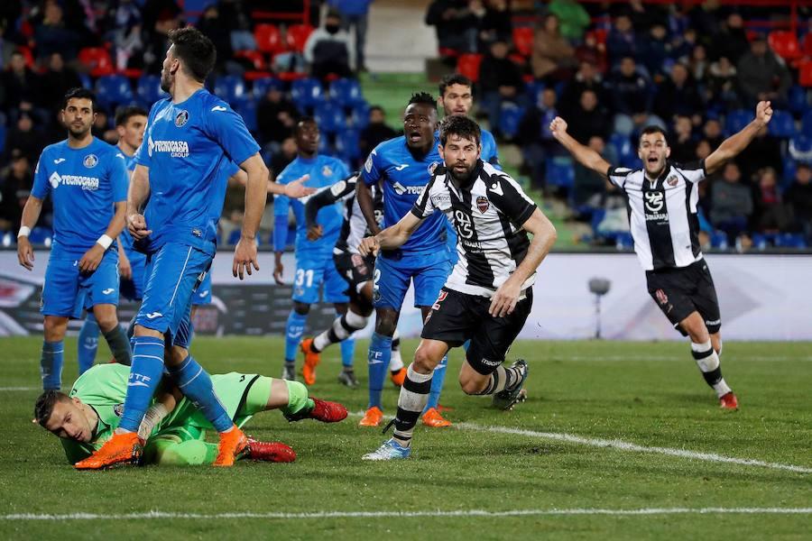 Fotos del Getafe-Levante UD