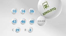 Resultados de la Bonoloto de hoy sábado 17 de marzo. Combinación ganadora del sorteo y números premiados
