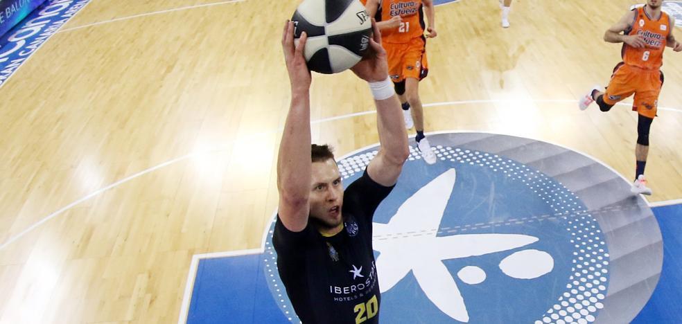 El Valencia Basket sigue de cerca a Ponitka para la próxima campaña