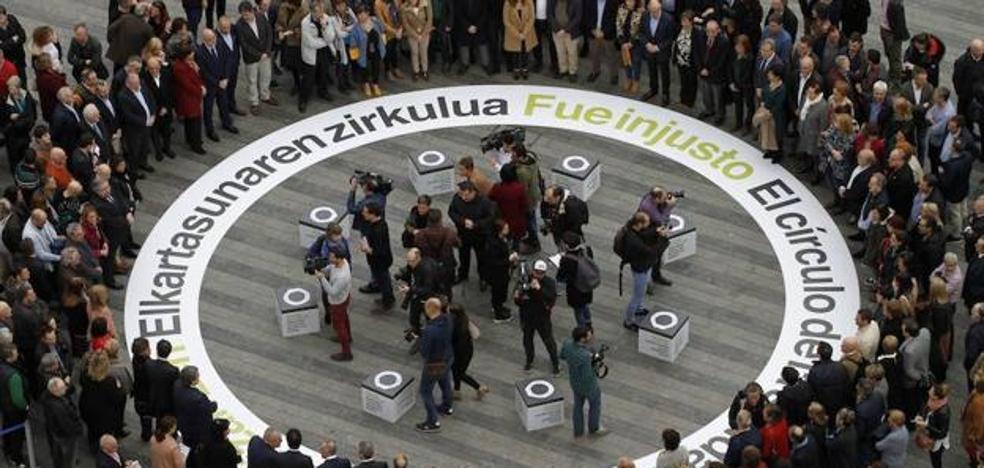 Urkullu, en el homenaje a las víctimas: «No sabemos si ETA hará autocrítica, pero nosotros sí»